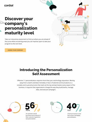 Cordial Personalization Maturity Assessment Thumbnail Preview