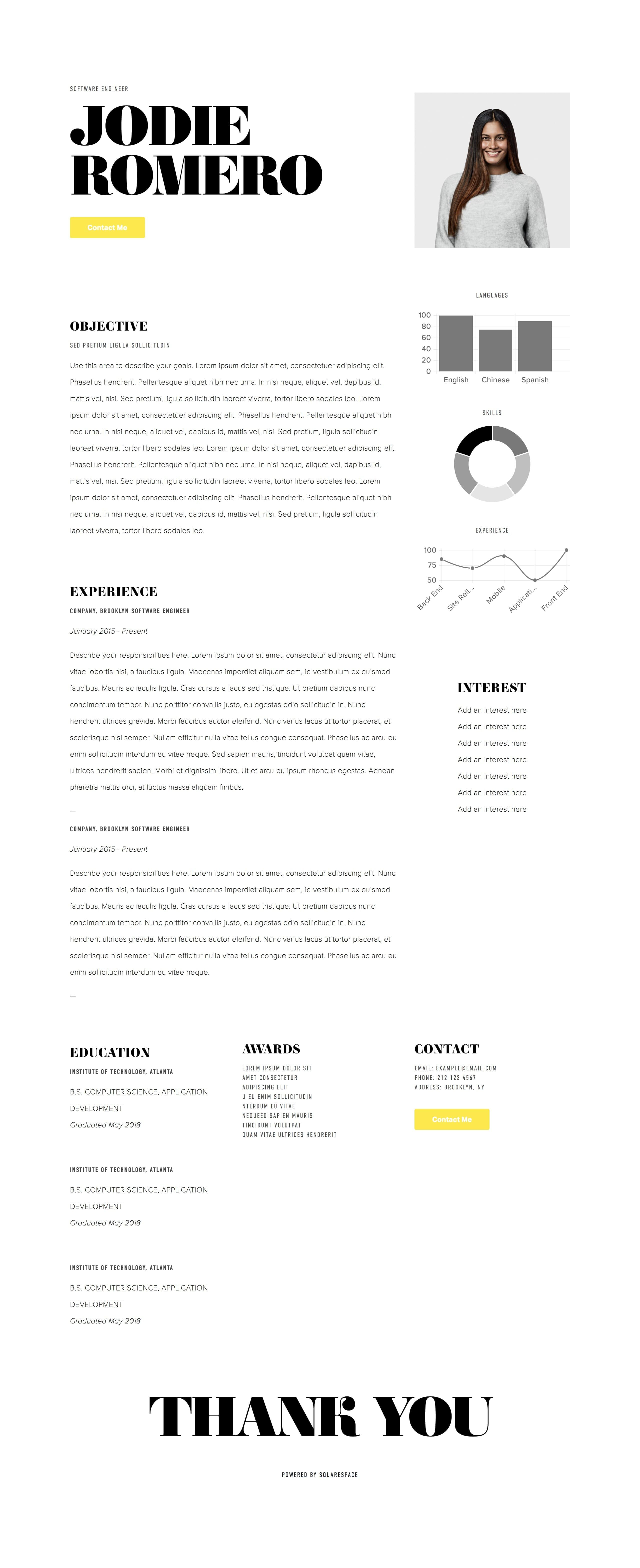 Pursuit Website Screenshot