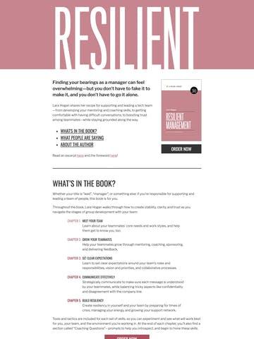 Resilient Management Thumbnail Preview