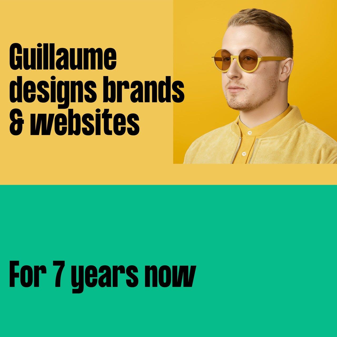 Guillaume Beaulieu Website Screenshot