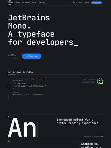 JetBrains Mono Thumbnail Preview