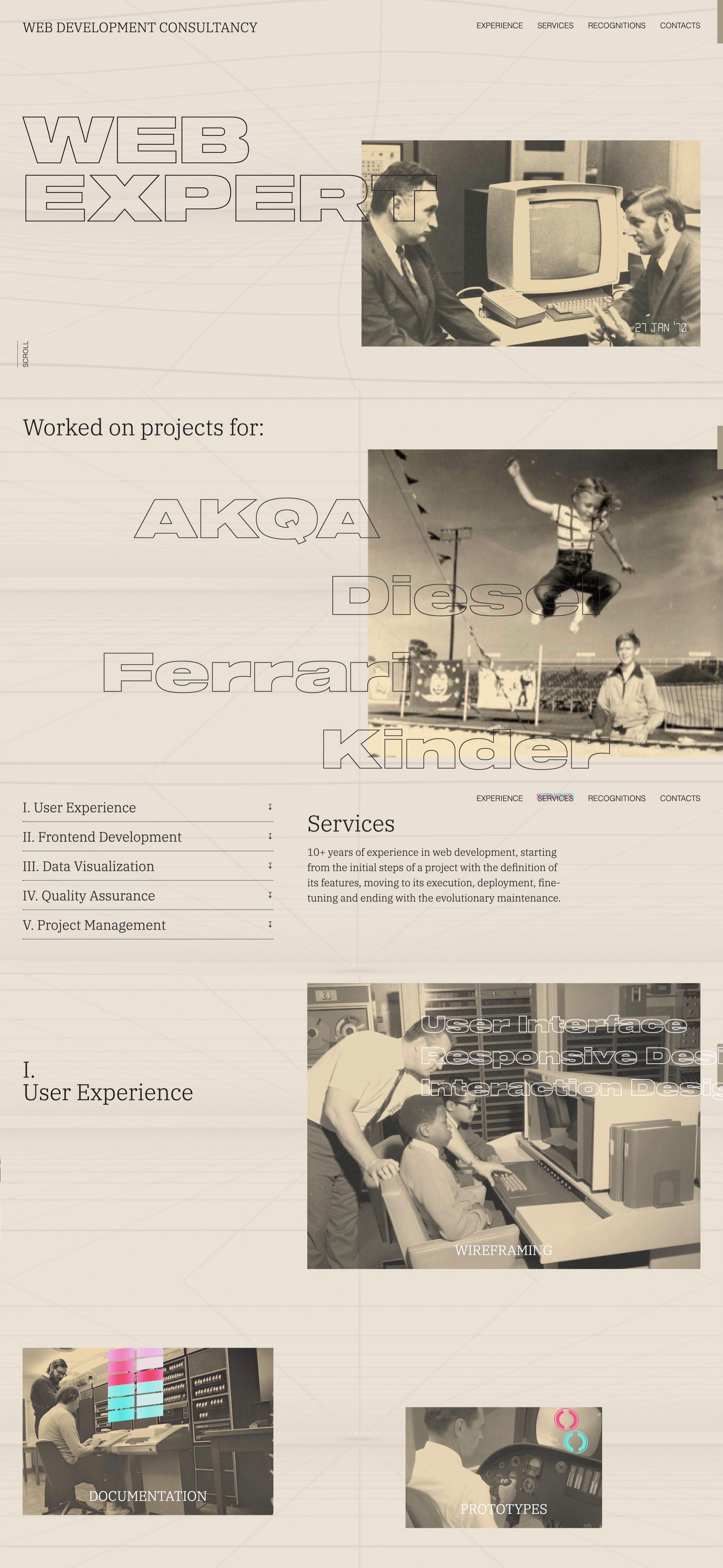 Marco Sors Website Screenshot