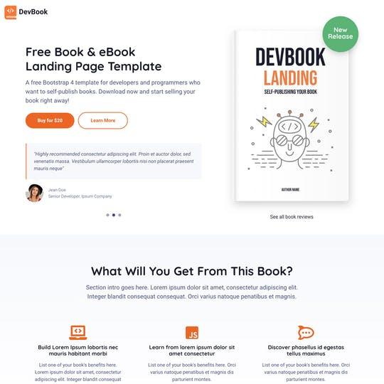 DevBook Thumbnail Preview