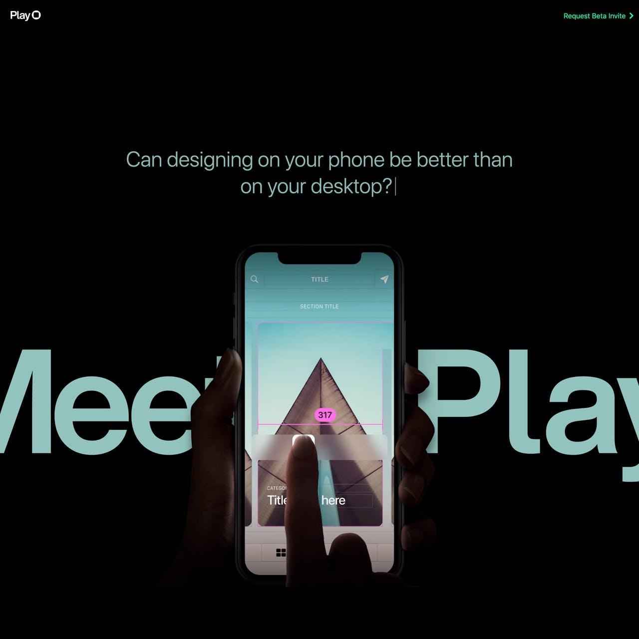Play Website Screenshot