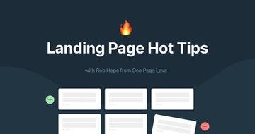 Improve your Landing Pages with 100 Hot Tips sent to email over 100 days
