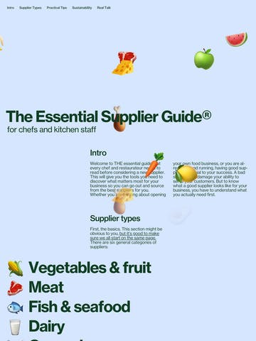 The Essential Supplier Guide Thumbnail Preview