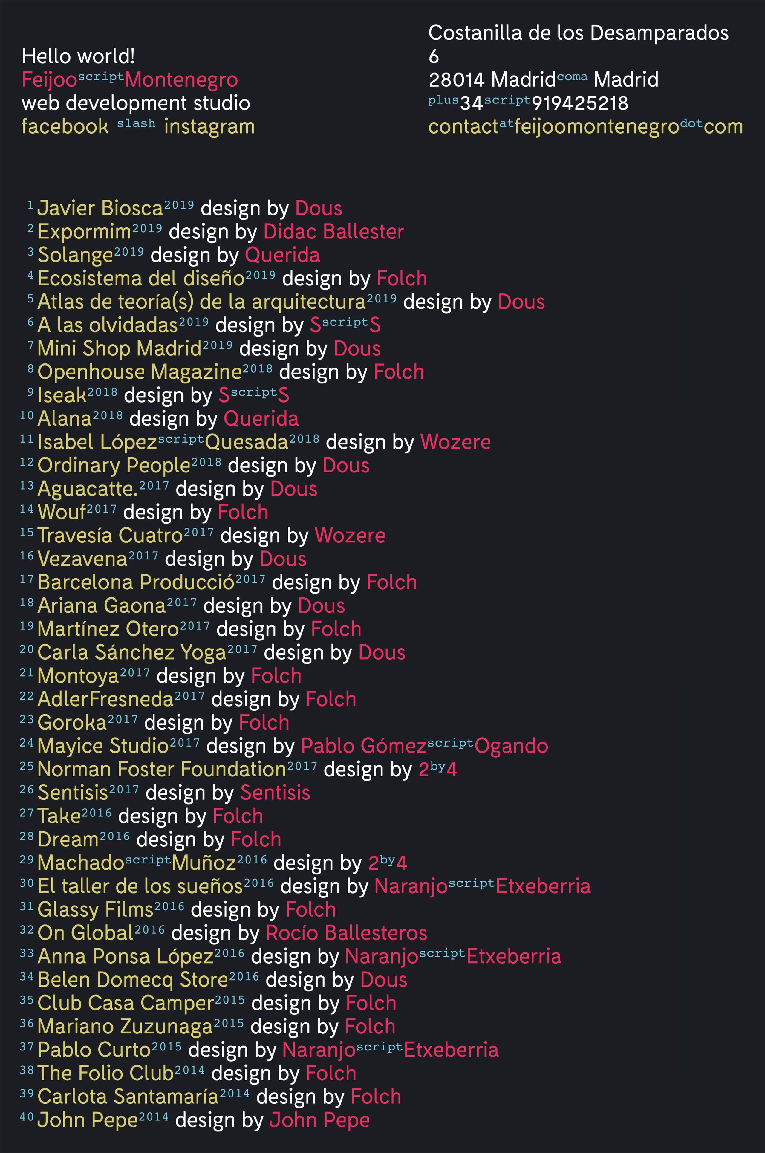 Feijoo-Montenegro Website Screenshot