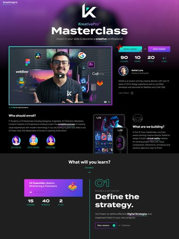 KreativePro Masterclass Thumbnail Preview