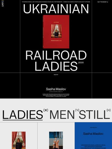 Ukrainian Railroad Ladies Thumbnail Preview