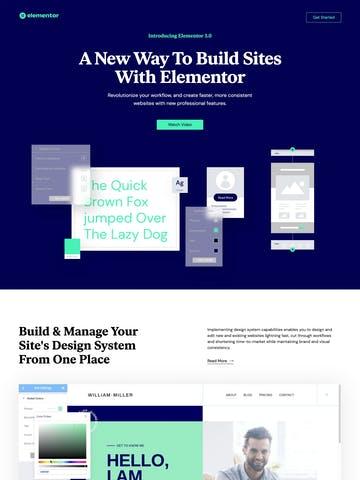 Elementor 3.0 Thumbnail Preview