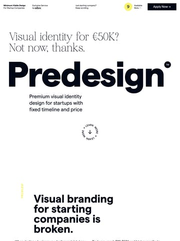 Predesign by Oblik Studio Thumbnail Preview