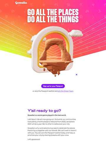 Gowalla Thumbnail Preview