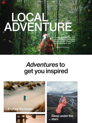 Mammut Local Adventure Challenge Thumbnail Preview
