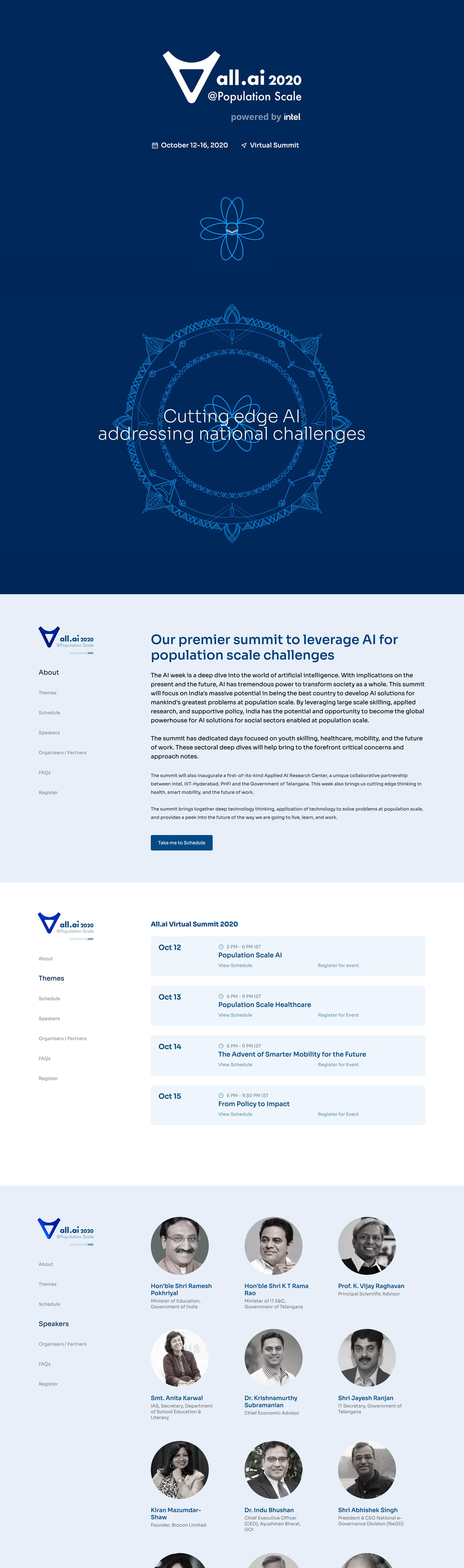 All.ai 2020 Website Screenshot