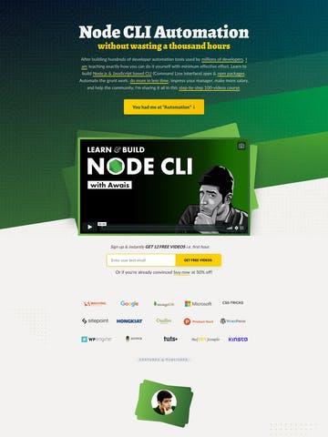 Node.js CLI Thumbnail Preview
