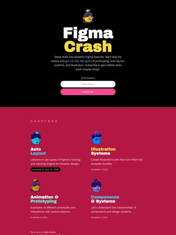 Figma Crash Thumbnail Preview