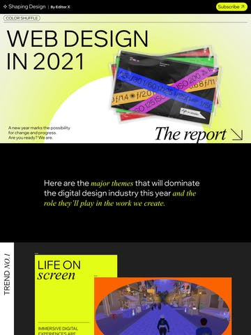 Web Design Trends 2021 Thumbnail Preview