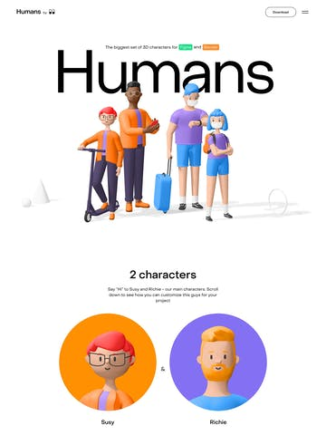 Humans Thumbnail Preview