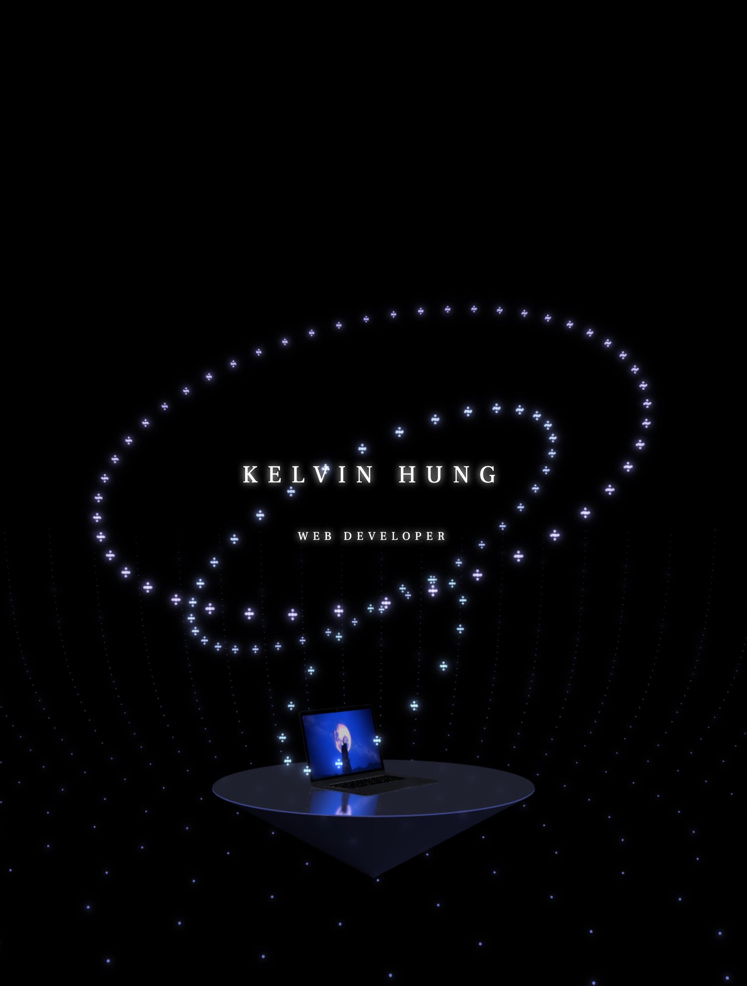 Kelvin Hung Website Screenshot