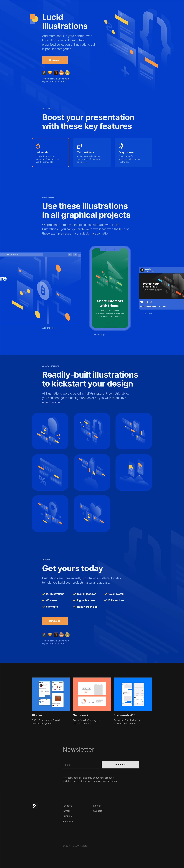 Lucid Illustrations Website Screenshot