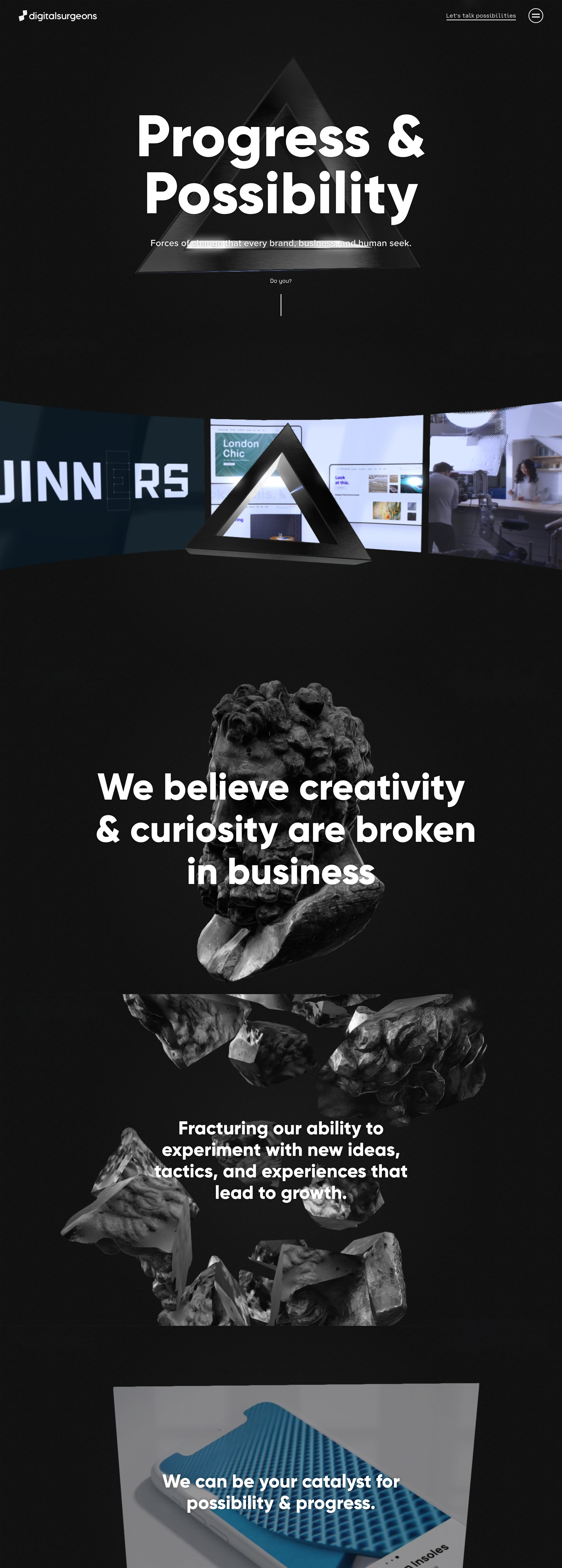 We Design Demand Website Screenshot