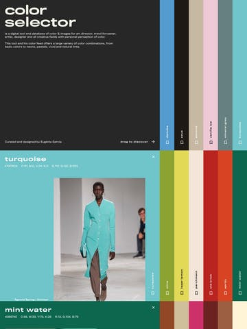 Color Selector Thumbnail Preview
