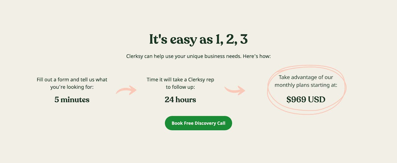 How It Works - Clerksy Screenshot