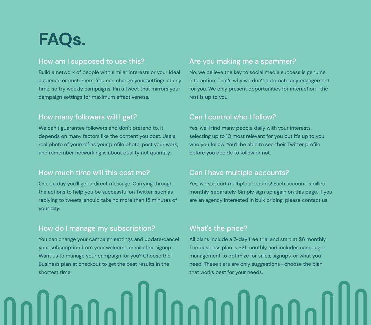 FAQ Section - Hum Screenshot