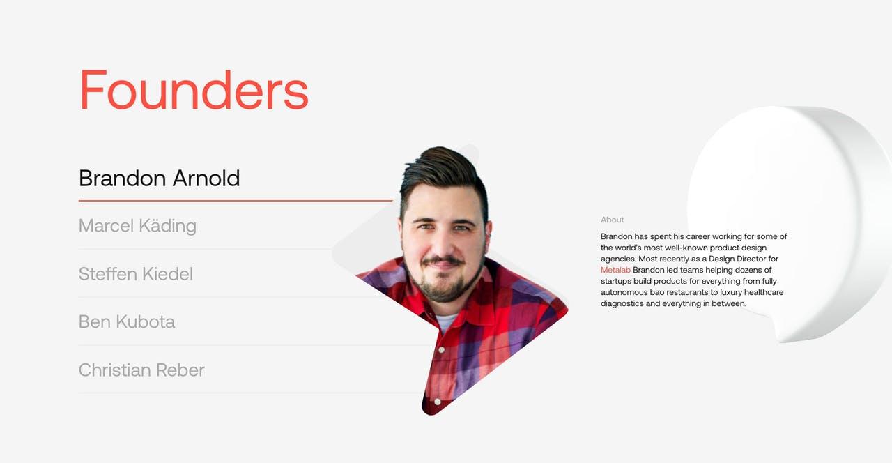 Team Section - Superlist Screenshot