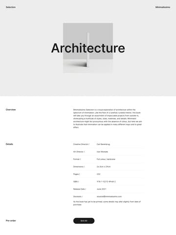 Minimalissimo – Selection Thumbnail Preview