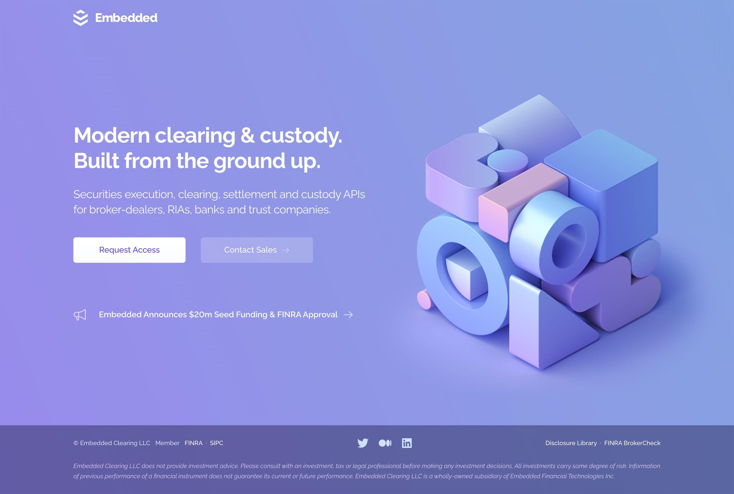 Embedded Website Screenshot