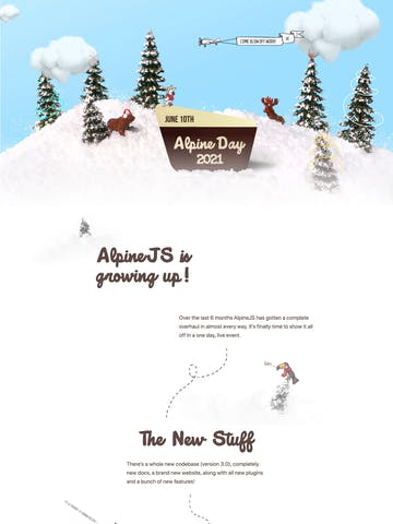 Alpine Day 2021 Thumbnail Preview