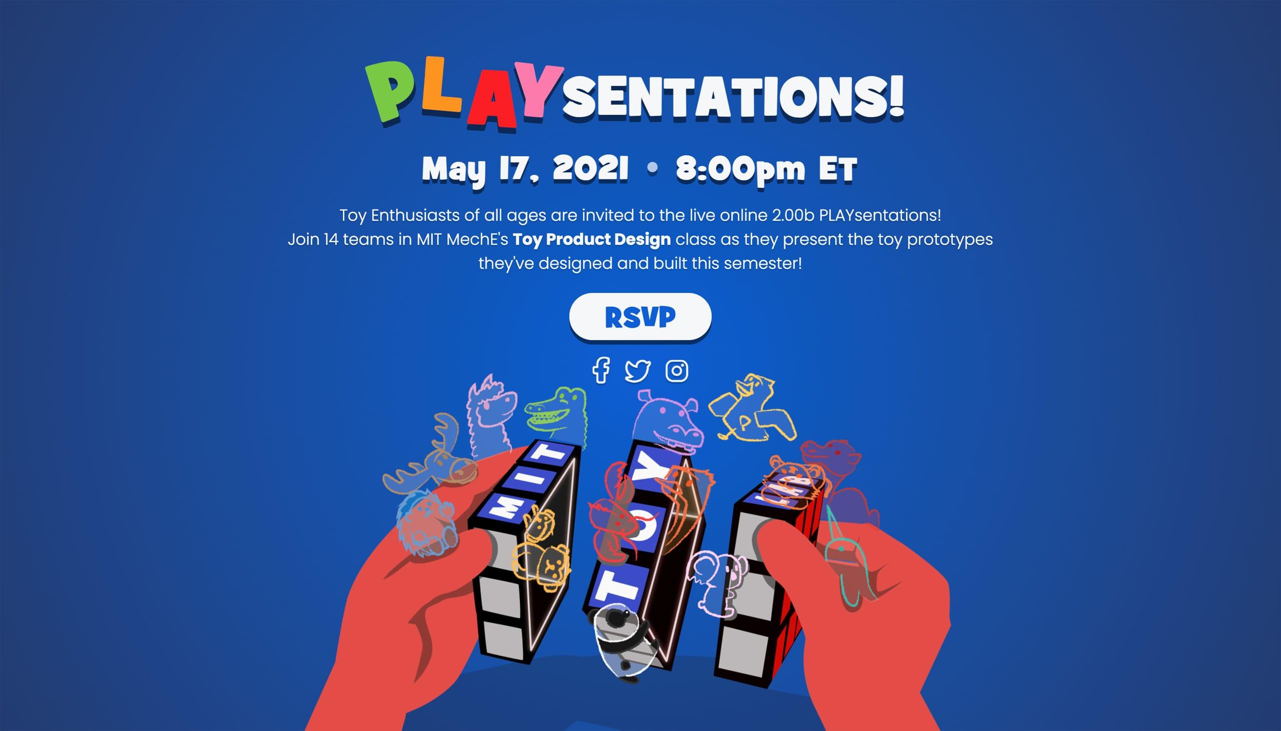 PLAYsentations Website Screenshot