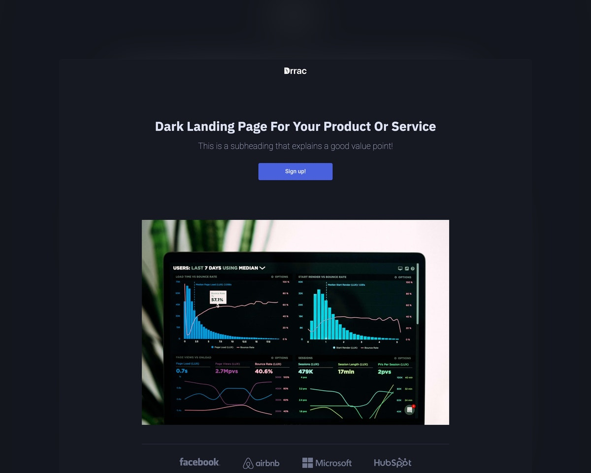 Dark Startup