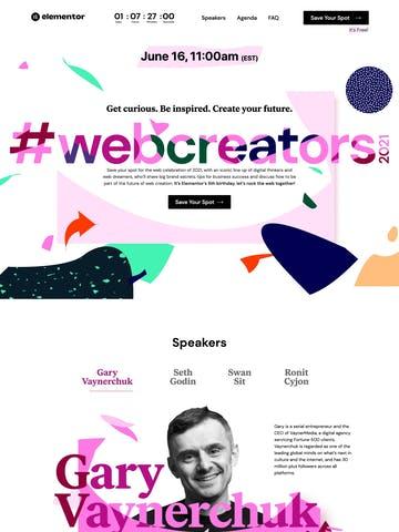 #webcreators2021 Thumbnail Preview