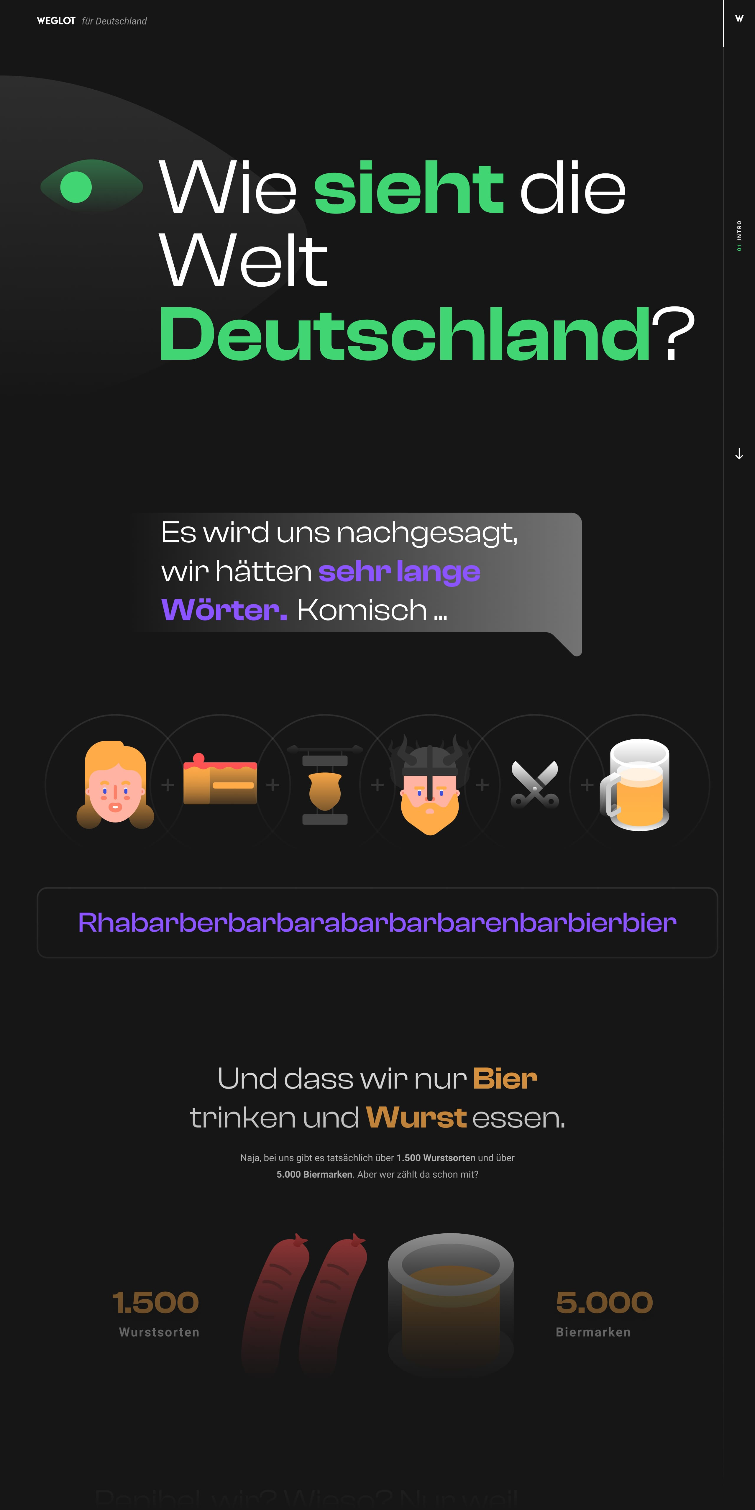 Weglot for Germany Website Screenshot