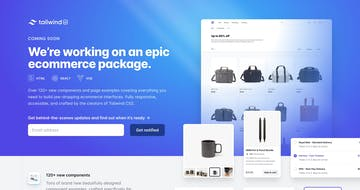 Tailwind UI Ecommerce Thumbnail Preview