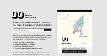Dense Discovery Thumbnail Preview