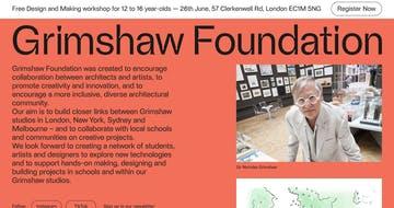 Grimshaw Foundation Thumbnail Preview