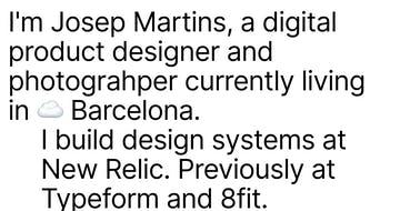 Josep Martins Thumbnail Preview