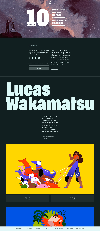 21wallpaper Website Screenshot
