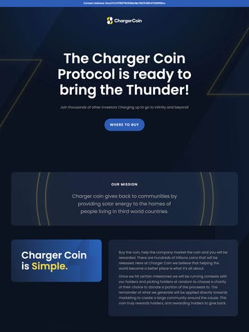 ChargerCoin Thumbnail Preview