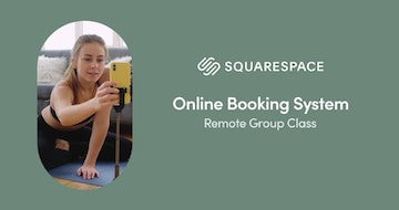 How to run Remote Group Classes using Squarespace Scheduling [video]