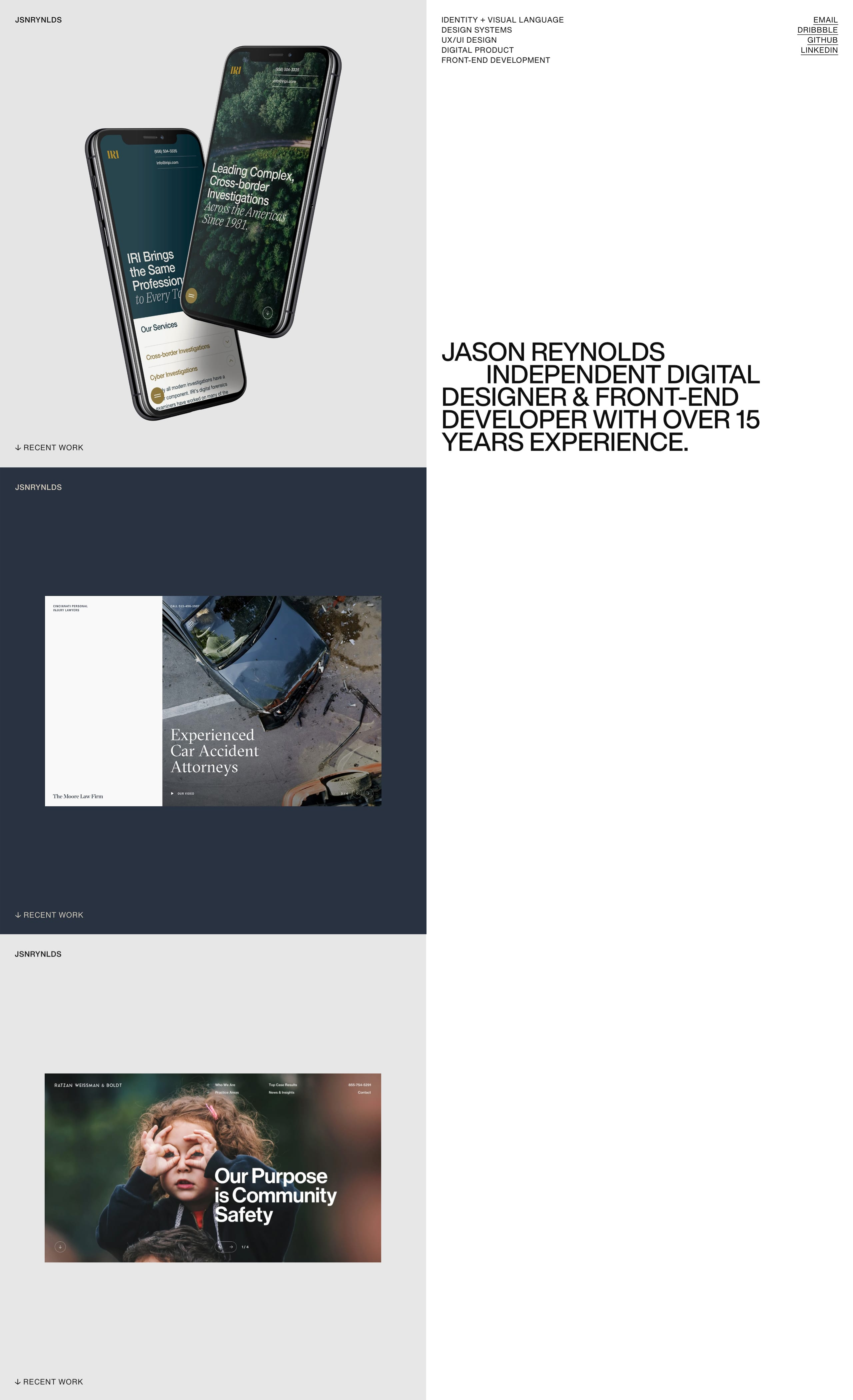 Jason Reynolds Website Screenshot