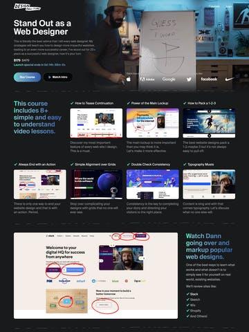 Standout as a Web Designer Thumbnail Preview