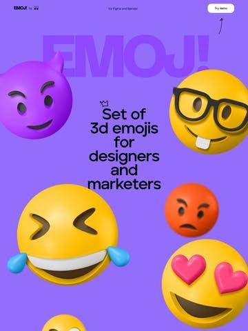 3D Emoji Thumbnail Preview
