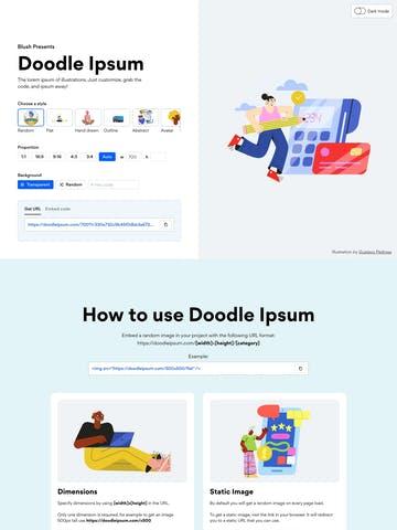 Doodle Ipsum Thumbnail Preview