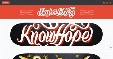 Skate Letters Thumbnail Preview