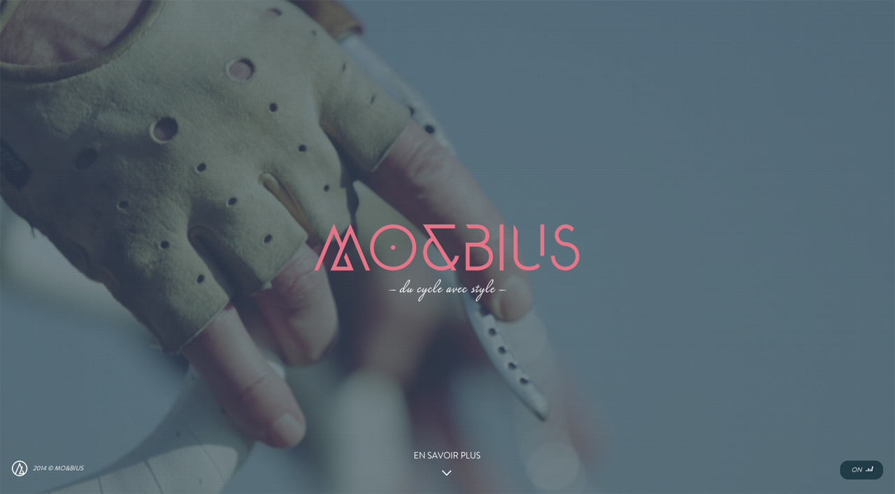 Mo&Bius Website Screenshot