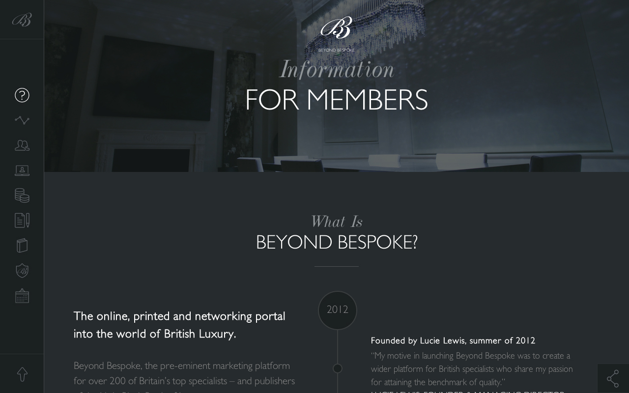 Beyond Bespoke Website Screenshot
